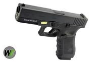 Contrast of WE's seven New AirSoft gun in Tiger111hk WE-GSG-G17-GEN4-BK-1