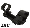5KU 30mm Metal One Piece Scope Mount (Black)