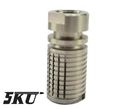 5KU Stainless TRIPLE TAP MUZZLE BREAK (-14mm) (Silver)