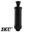 5KU AKMSU Metal Flash Hider for AK series (-14mm )(Black)