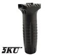 5KU Aluminum Industries CQB Vertical Grip-Black