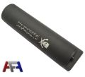 Army Force 145mm Steel Fluorescent Silencer w/ Marking-Black