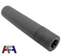 Army Force 175mm  Steel QD Silencer-Black