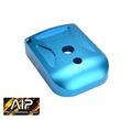 AIP Spy Aluminum Magazine Base For Marui 5.1 -Blue