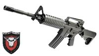 BISON M4 Shell Ejecting Spring Rifle(Extendable Stock)(Black)