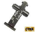 CYMA 500m AK rear sight - Black