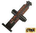 CYMA 1200m AK rear sight - Black