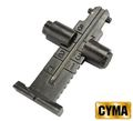 CYMA 800m AK rear sight - Black