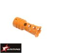 Eaiming 12mm Metal flash hider For M4/M16 (Orange)