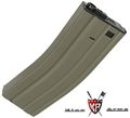King Arms 450 Rounds Magazine for Marui M16 series-Dark Earth