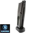 KJ Works 26rds CO2 Metal Magazine For KP-09 GBB – Black