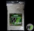 WE 0.25g Competition Match Grade series 4000-rd BB pack