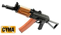 CYMA Imitation Wood Handguard AK74U AEG(Folding Stock)(CM035)