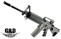 G&D Full Metal DTW M4A1 Carbine AEG Rifle (M110, Black)