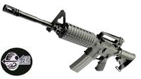 Jing Gong M4A1 GBB Rifle(Extendable Stock)(Black)