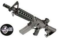 Jing Gong M4 CQB GBB Rifle(Extendable Stock)(Black)