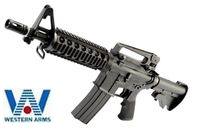 Western Arms Metal M4A1 CQB-R GBB Rifle(Black)