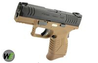 WE XDM-45ACP Compact 3.8 GBB Pistol w/ Grip Cover&Backstrap (DE)