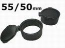 3-9x50GD Rifle 55/50mm Scope Rubber Flip up LENS Cover