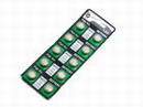 10 pcs 1.5 Volts Alkaline AG13 Battery~ A76,357,LR44,SR44