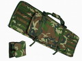 "40""/23"" Dual Rifle Gun Bag w/ Triple MAG Pouch - Woodland"