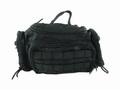 MOLLE Assault bag with 2 Take off Side Pouches -BK