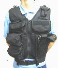 Black Hawk Down Omega Phalanx HSV Assault Tactical Vest - Black