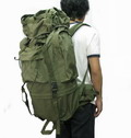MilitaryExpedition Huge Capacity Tactical Patrol 65L Backpack-OD