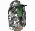 WW2 BDU MOUT City Camouflage Hat with long neck Flap - URBAN