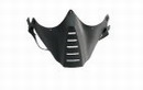 Paintball Wargame Protect Tactical Half Face Mask -Black