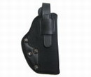 Ambidextrous Right Hand Belt Pistol Holster - Black