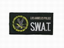 LOS ANGELES POLICE S.W.A.T. Velcro Patches 275X140mm