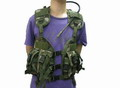 CQB Navy Tactical MOD MOLLE Vest With Hydration System -Woodland