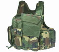 US Force Recon Marine MOD MOLLE Vest - Woodland WC