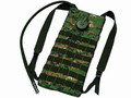 Digital Woodland 2 Way MOLLE 2.5L Hydration Water Backpack - DWC