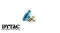 DYTAC Aluminum Piston Head for Ver 2 Gearbox – Blue