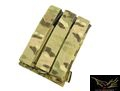 Flyye Cordura Triple MP5 Magazine Pouch (Multicam)