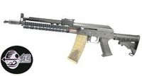 Jing Gong Metal AK Tactical AEG (Style B, Black)