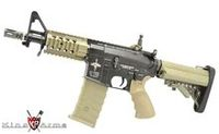 King Arms Metal M4 Tanker Rifle AEG with CAA Mag (Dark Earth)