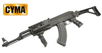 CYMA AK47 Tactical Rifle AEG fold stock (CM.028U, Black) Special