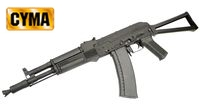 CYMA Metal AK105 Assault Rifle AEG w/ folded stock (CM.031D, BK)
