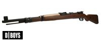 D-BOYS Kar98K Air cocking Shell Ejecting Rifle (Wood color)