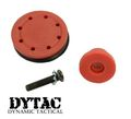 Dytac POM Piston Head for AEG  - Red