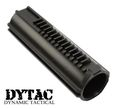Dytac Polycarbonate AEG Piston w/ Full Steel Teeth - Black
