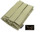 Flyye Cordura Triple MP5 Magazine Pouch (Ranger Green)