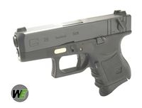 WE Metal Slide G26 GBB Pistol Full Auto Ver. (BK)