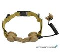 Z Tactical Z045 Throat Mic Adapter for Z029 - Tan