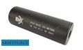 Army Force Metal Silencer with Skull Marking (14mm +/-, Long)