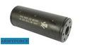 Army Force Metal Silencer with Skull Marking (14mm +/-, Short)
