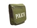Police Logo Nylon Material Universal Pocket Bags (Olive Drab)